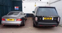 Aston Martin 2BE and Range Rover NOT 2B